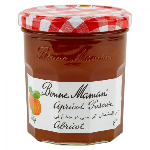 Bonne Maman Intense Apricot Fruit Spread With Low Added Sugar 335G 458952-V001 by Bonne Maman