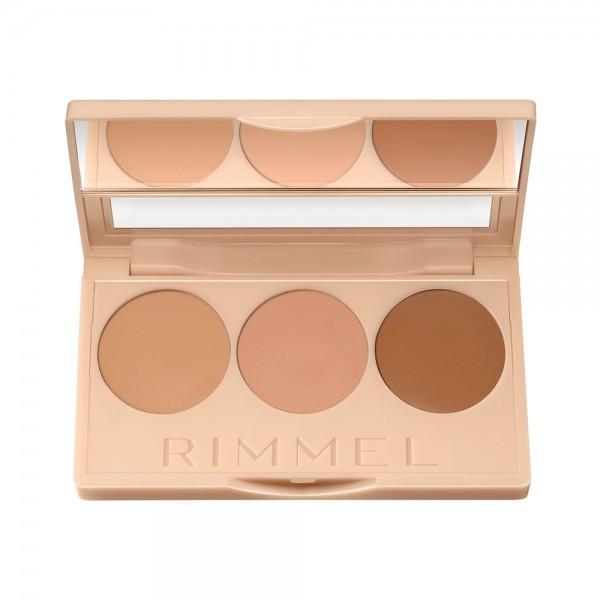 Rimmel Insta Conc+Cont Palette 020 - 1Pc 460254-V001 by Rimmel