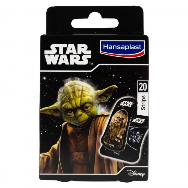 Hansaplast Star Wars 20 Plasters 460513-V001 by Hansaplast