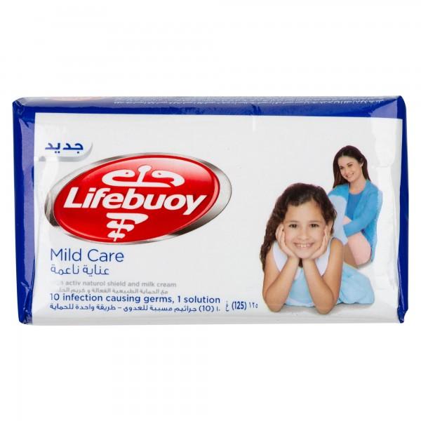 Lifebuoy Bar Soap Mild Care 125G 461438-V001 by Lifebuoy