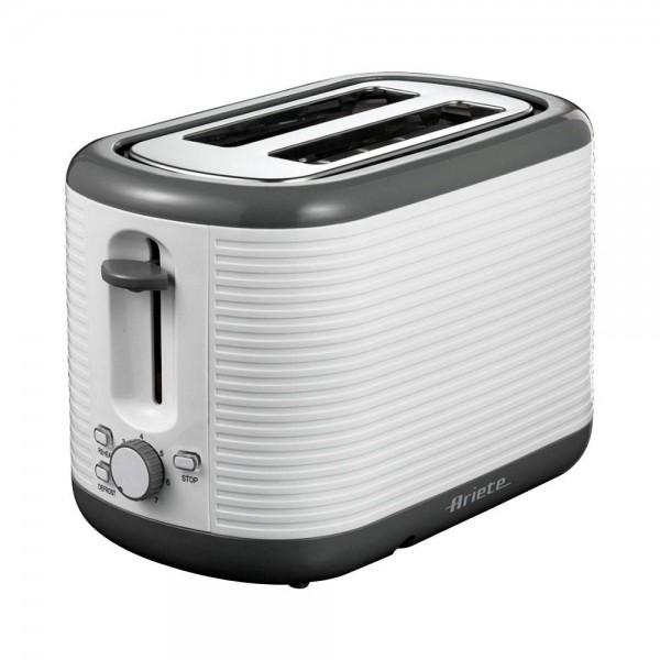 Ariete Toaster 2 Slot White Grey - 930W 461808-V001 by Ariete