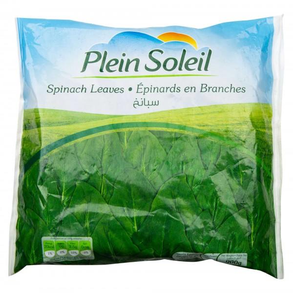 Plein Soleil Spinach Leaves Frozen 900G 462466-V001 by Plein Soleil
