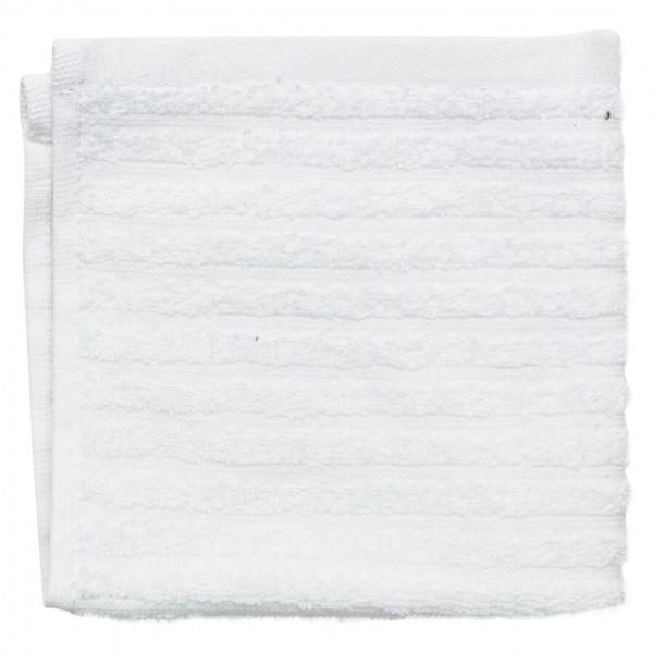 Spinneys Ribbed Bath Towel White Color 30X30 550G 462633-V001 by Spinneys Supreme