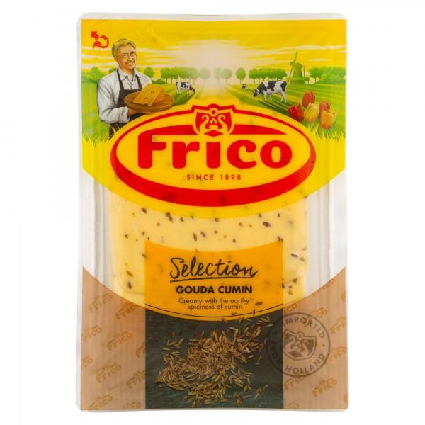 Frico Gouda Cumin Slices 150g 464581-V001 by Frico