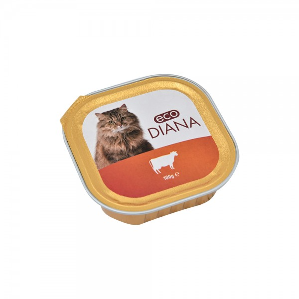 Eco Diana Chat Pate Beef 465483-V001 by Eco Diana
