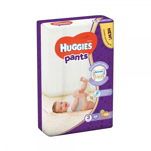 Huggies Pants Jumbo Pack Size 3 6-11Kg 44pc 466045-V001 by Huggies