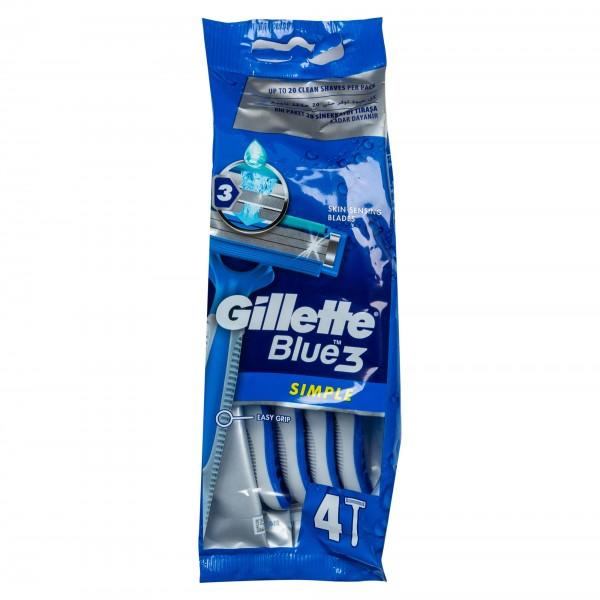 Gillette Blue Simple 3 466988-V001 by Gillette