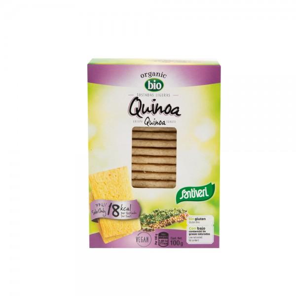Santiveri Gluten Free Light Toast With Quinoa 100G 468609-V001 by Santiveri