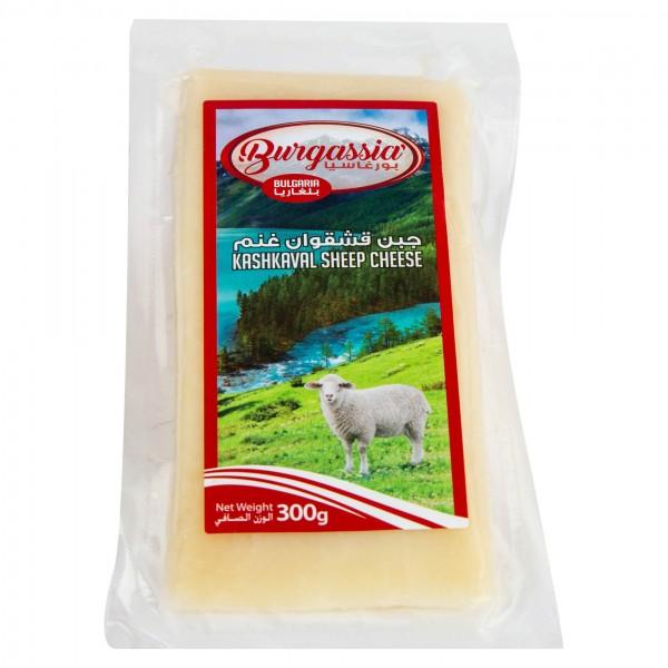 Burgassia Kashkaval Sheep Cheese 300G 468822-V001 by Burgassia