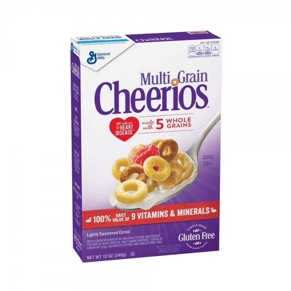 CEREAL CHEERIOS MLT GRAIN 469002-V001 by General Mills
