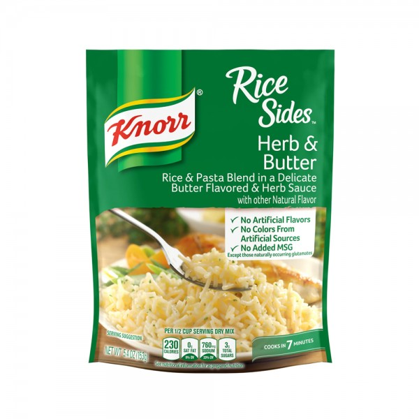 RICE SIDES HERB + BUTTER 469129-V001 by Knorr