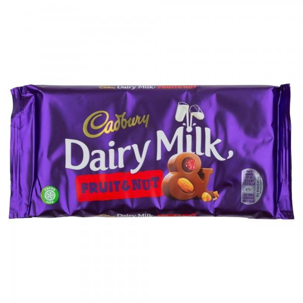 Cadbury Dairy Milk Fruit & Nut Chocolate Bar 200G 469917-V001 by Cadbury