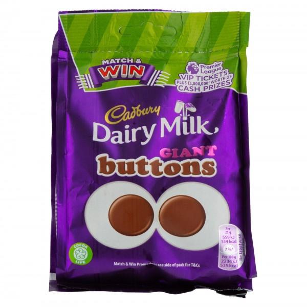 Cadbury Buttons Giant Bag 119G 470329-V001 by Cadbury
