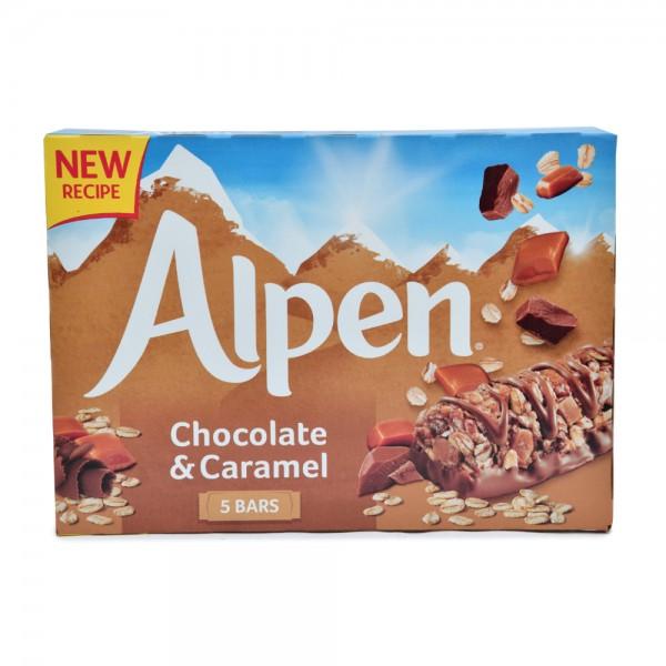 Alpen Chocolate & Caramel 5 Bars 29G 470353-V001 by Weetabix