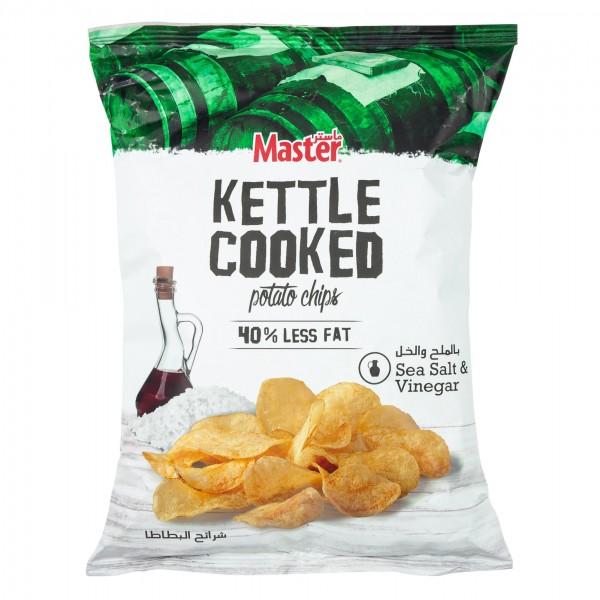 Master Kettle Sea Salt + Vinegar 76g 470545-V001 by Master Chips