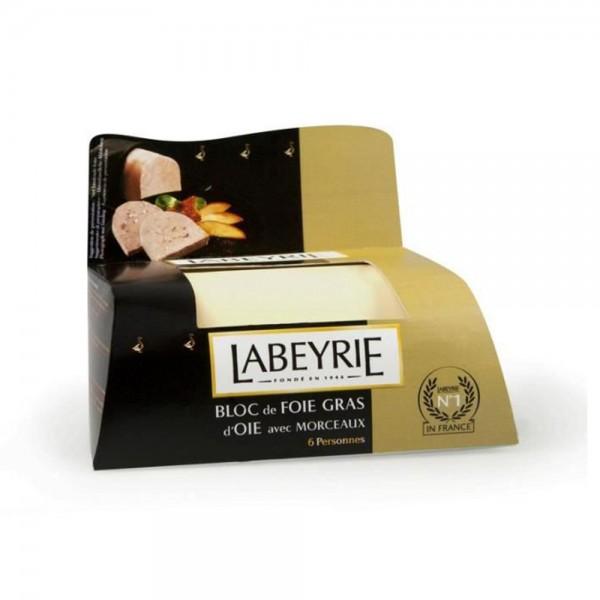 LABEYRIE Bloc De Foie Gras D'Oie Avec Morceaux 190G 471451-V001 by Labeyrie