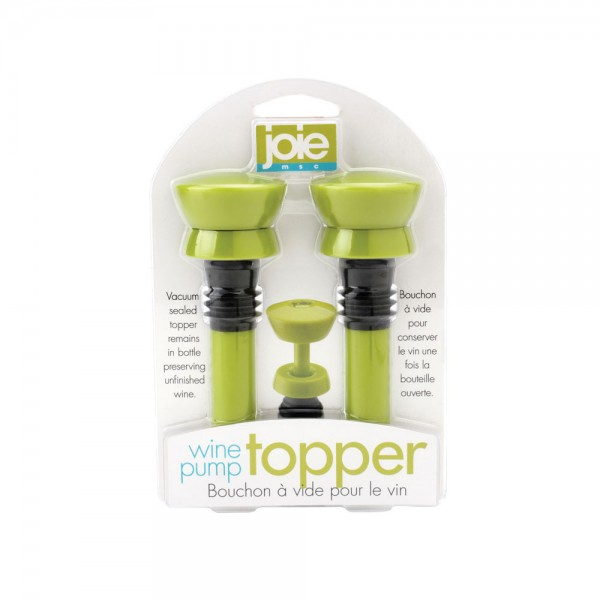 Joie Wine Pump Topper Set Of 2 1 471886-V001 by Joie Shop