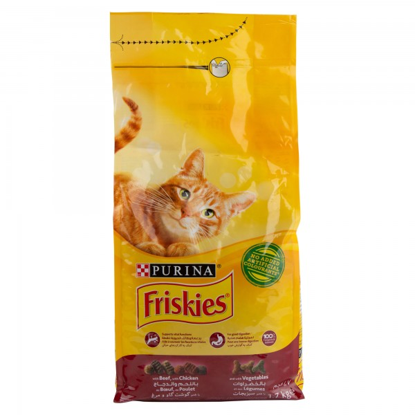 Purina Friskies With Beef, Chicken & Vegetables 1.7Kg 472000-V001 by Purina