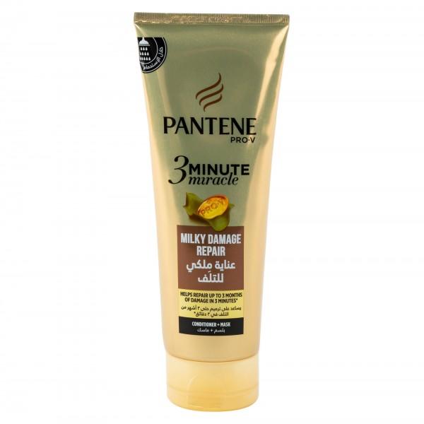 Pantene Pro-V 3 Minute Miracle Milky Damage Reapir Hair Mask 200ml 472117-V001 by Pantene