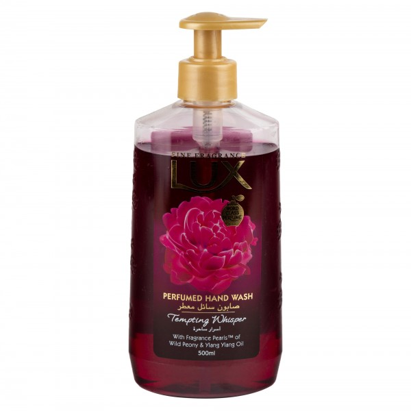 Lux Hand Wash Tempting Whisper 500ml 472448-V001 by Lux