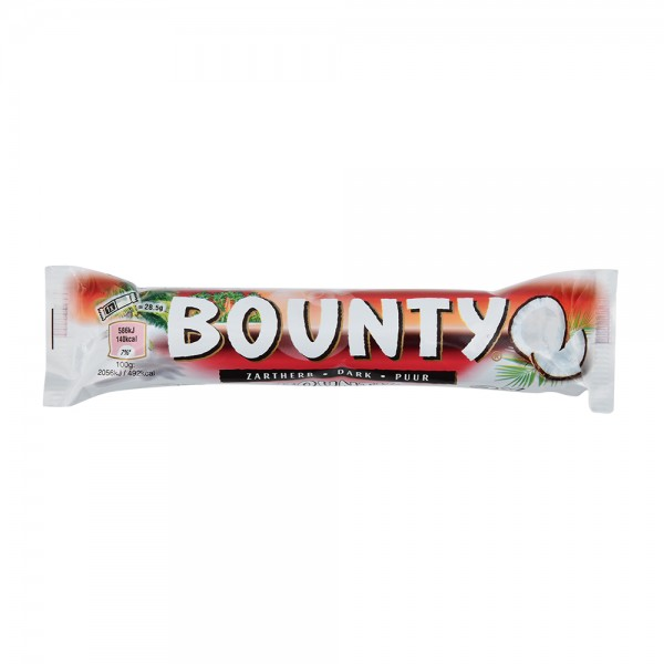 Bounty Choc Single Dark - 57G 474083-V001 by Mars