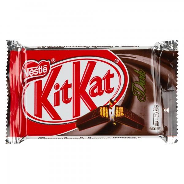 Nestle Kitkat Four Finger Dark Chocolate Bar 41.5G 474095-V001 by Nestle