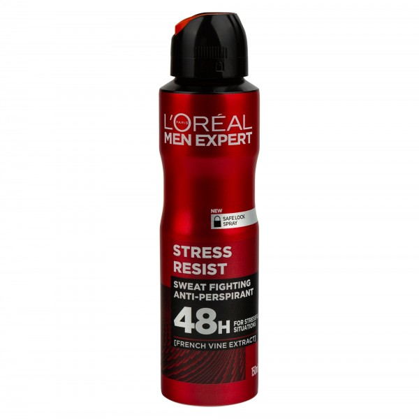 L'Oreal Expert Spray Stop Stress For Him 150ml 474248-V001 by L'oreal