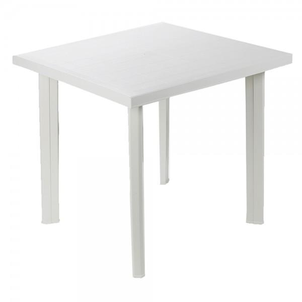 Pro-Garden Fiocco Rectangular Table White - 75X80Cm 474686-V001 by Pro Garden Collection