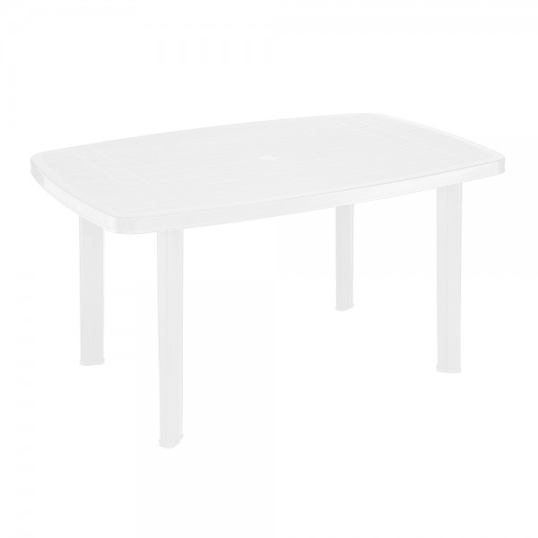 Pro-Garden Faro Oval Table Anthracite - 140X90Cm 474687-V001 by Pro Garden Collection
