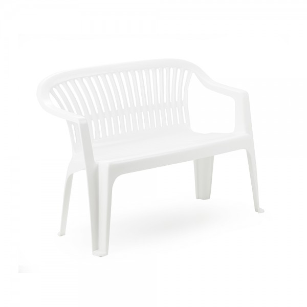 Pro-Garden Diva Bench White - 114X55 474690-V001 by Pro Garden Collection