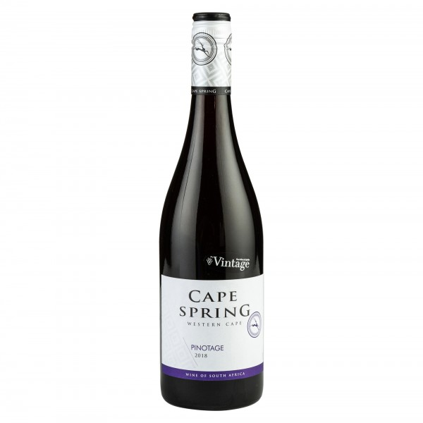 Cape Spring Pinotage 2018 750ml 475771-V001 by Cape Spring