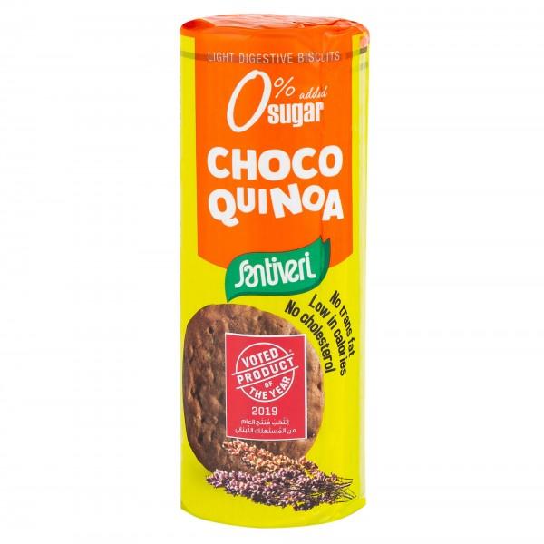 Santiveri Light Digestive Biscuits Choco Quinoa 175G 475868-V001 by Santiveri