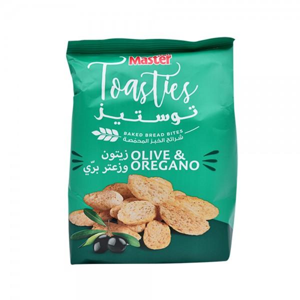 Master Tosties Olive & Oregano 32g 476015-V001 by Master Chips