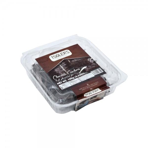 Tsoler's Chocolate Crackers 150g 476100-V001 by Tsoler's