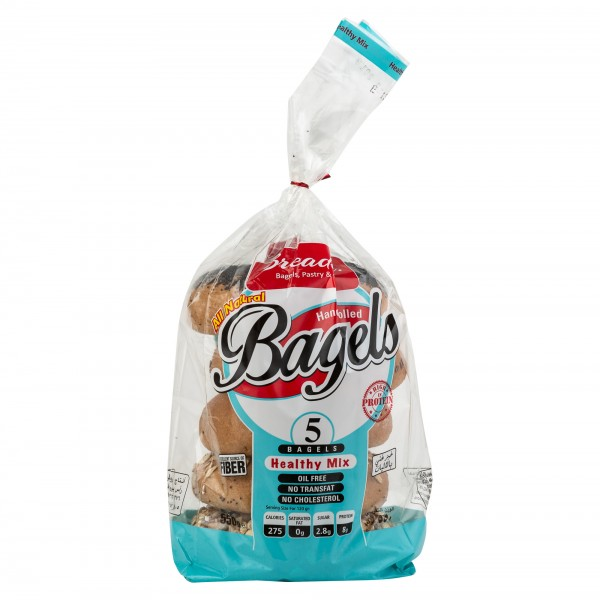 The Bread Inc Healthy Mix Bagel 550G 476409-V001 by Breadinc