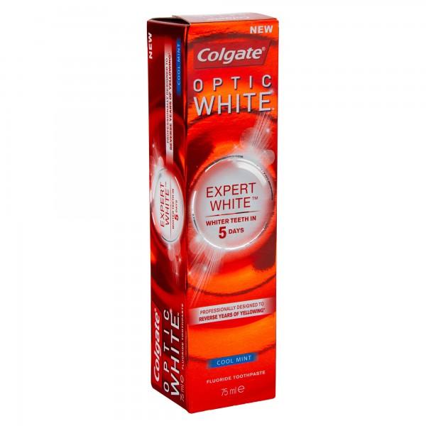 Colgate Optic White Expert White Whitening Toothpaste 75ml 476856-V001 by Colgate