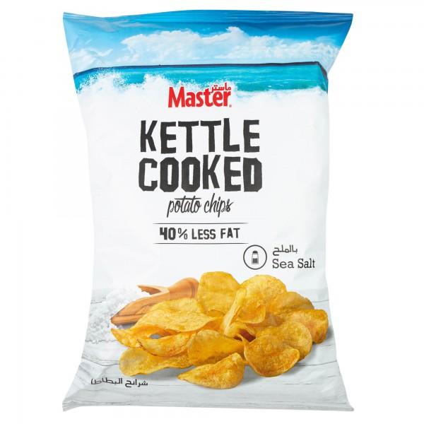 Master Kettle Sea Salt 144g 477154-V001 by Master Chips