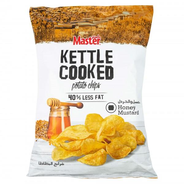 Master Kettle Honey Mustard 144g 477159-V001 by Master Chips