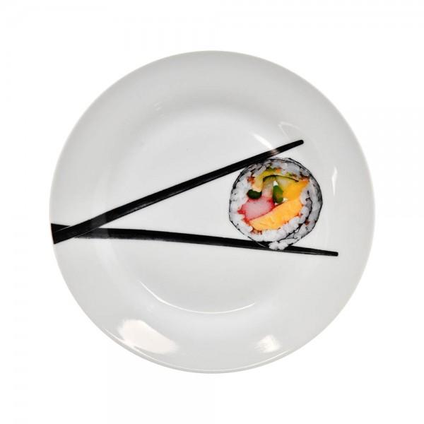 Choosing Sushi Round Plate - 18Cm 477306-V001 by Choosing