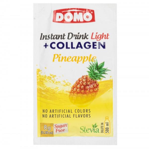 Domo Instant Drink Light + Collagen Pineapple 8G 477631-V001 by Domo