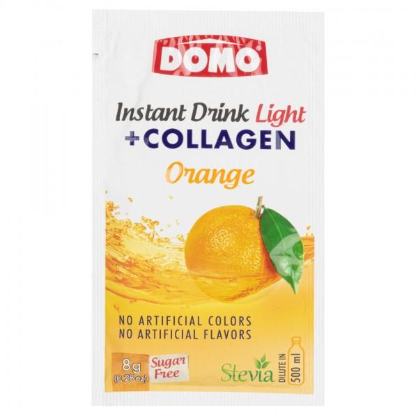 Domo Instant Drink Light + Collagen Orange 8G 477634-V001