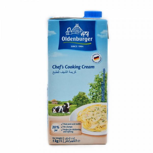 Oldenburger Cooking Cream 20% Fat 1L 477763-V001 by Oldenburger