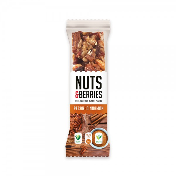 Nuts+Berry Organic Pecan Cnm 477812-V001 by Nuts & Berries
