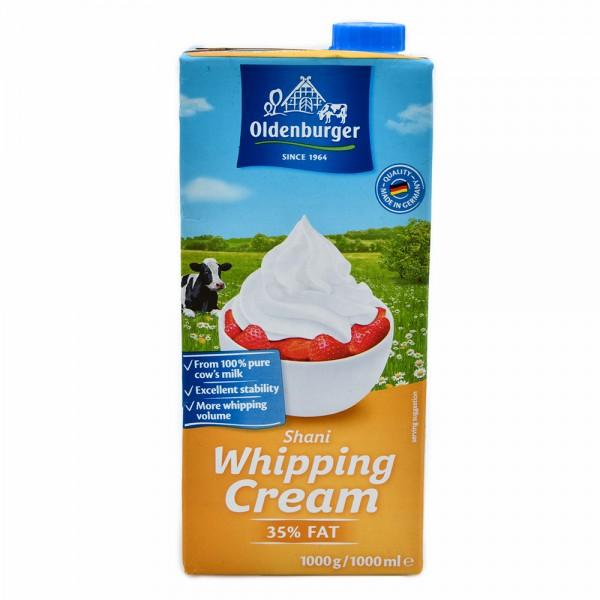 Oldenburger Whipping Cream, UHT Long-Life 35% 1L 478029-V001 by Oldenburger