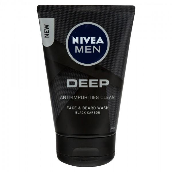 Nivea Men Face & Beard Deep 100ml 479017-V001 by Nivea