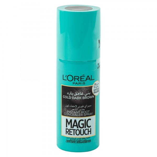 L'Oreal Paris Cold Dark Brown Magic Retouch 1Pc 479799-V001 by L'oreal