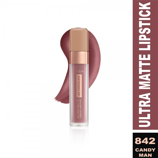 Loreal Inf Liquid Lip Choco 842 Cand - 1Pc 479813-V001 by L'oreal