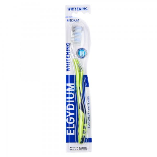 Elgydium Toothbrush Whitening Medium 1 Piece 480271-V001 by Elgydium