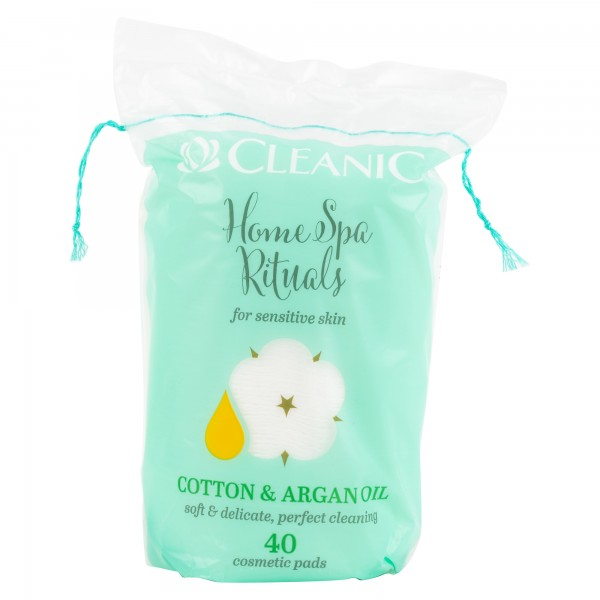 cleanic Rituals With Argan Cotton Pads 40 Pieces 480744-V001 by Cleanic