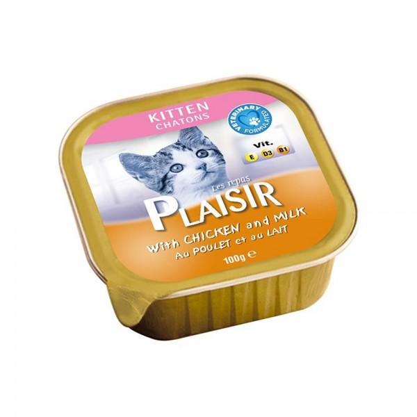 Les Repas Plaisir Kitten With Chicken In Gravy 480815-V001 by Les Repas Plaisir